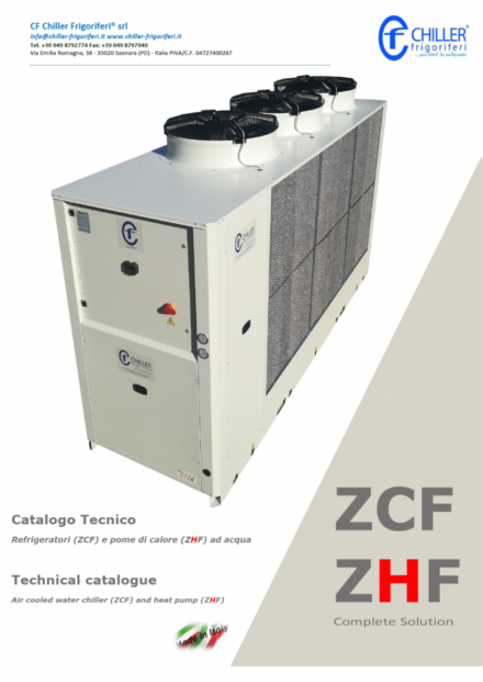 ZCF CATALOGO - CF Chiller