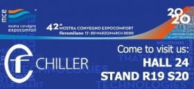 CF CHILLER - MCE2020 convention - CF Chiller