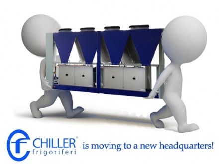 TRANSFER TO A NEW HEADQUARTERS - CF Chiller